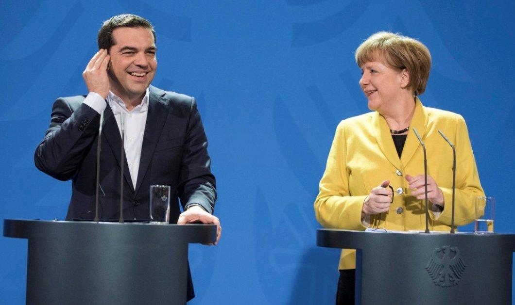 Ο Αλέξης Τσίπρας σήμερα στο Βερολίνο με Μέρκελ: ''Μάζεψε τον Σόϊμπλε μας έχει τσακίσει''  - Κυρίως Φωτογραφία - Gallery - Video