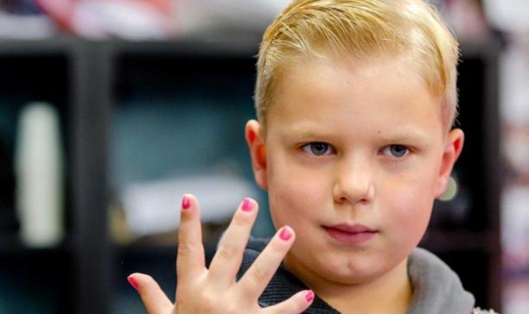 6χρονος μικρούλης με καρκίνο μάζεψε 2,5 εκ. ευρώ για να ανακουφίσει άλλους ασθενείς - Κυρίως Φωτογραφία - Gallery - Video