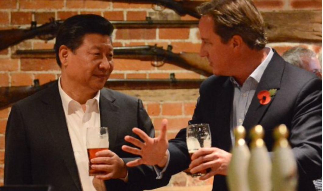 Ο Κάμερον ήπιε μπύρα με τον Κινέζο πρωθυπουργό σε πάμπ & τώρα την αγόρασε Κινέζος επιχειρηματίας - Κυρίως Φωτογραφία - Gallery - Video