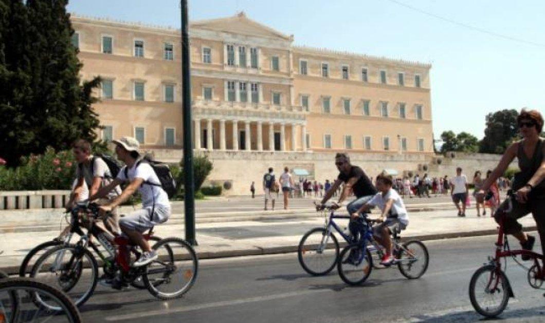 Πρώτοι οι Λονδρέζοι & τελευταίοι οι Αθηναίοι στο ποδήλατο - Πάντως γίναμε καλύτεροι στις ορθοπεταλιές - Κυρίως Φωτογραφία - Gallery - Video