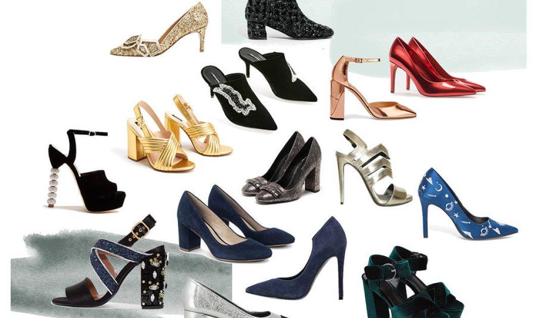 Τα παπούτσια  του ρεβεγιόν: 31 γιορτινά ζευγάρια  για να.... πατήσετε πόδι  - Κυρίως Φωτογραφία - Gallery - Video