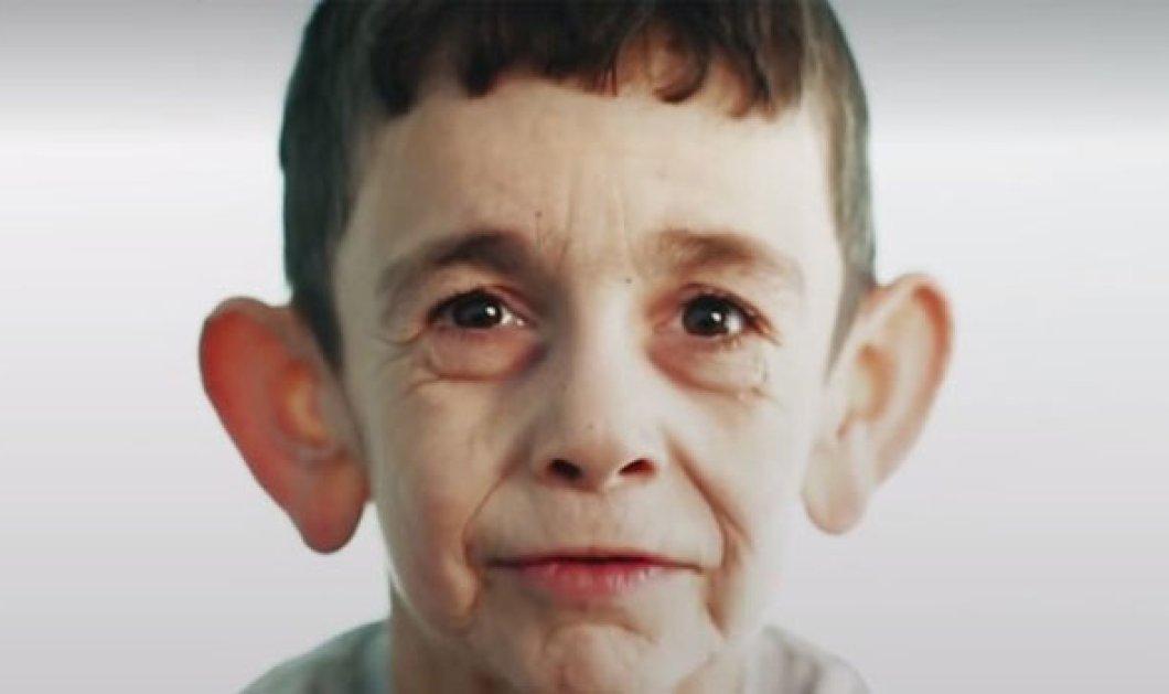 Απίστευτο: Ένα αγόρι μόλις 7 χρονών είναι παγιδευμένο σε σώμα γερασμένου άντρα - Κυρίως Φωτογραφία - Gallery - Video
