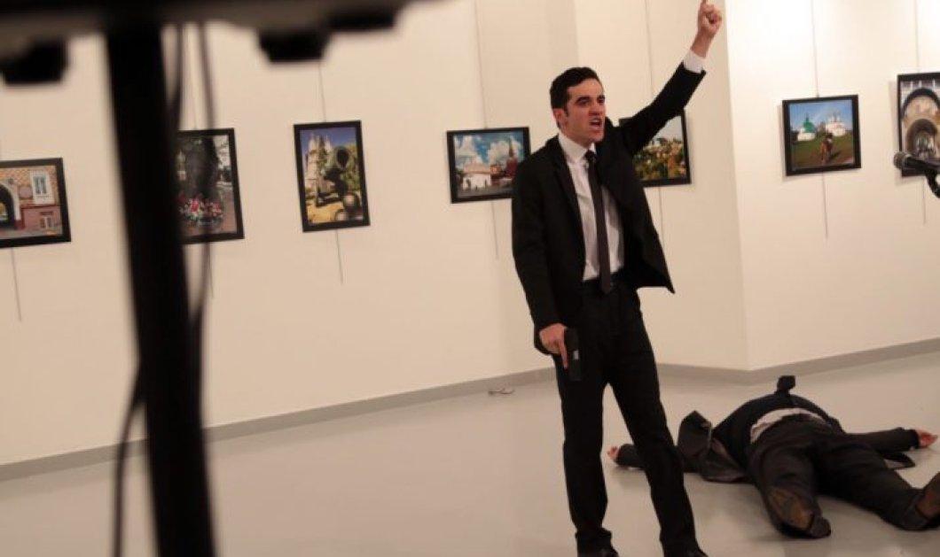 Στην φρουρά του Ερντογάν ήταν ο 22χρονος Τούρκος δολοφόνος του Ρώσου πρέσβη - Κυρίως Φωτογραφία - Gallery - Video