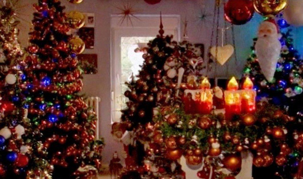 Μαγικό! Με 100 χριστουγεννιάτικα δέντρα στόλισε το σπίτι του ζευγάρι στην Γερμανία - Δείτε το βίντεο - Κυρίως Φωτογραφία - Gallery - Video
