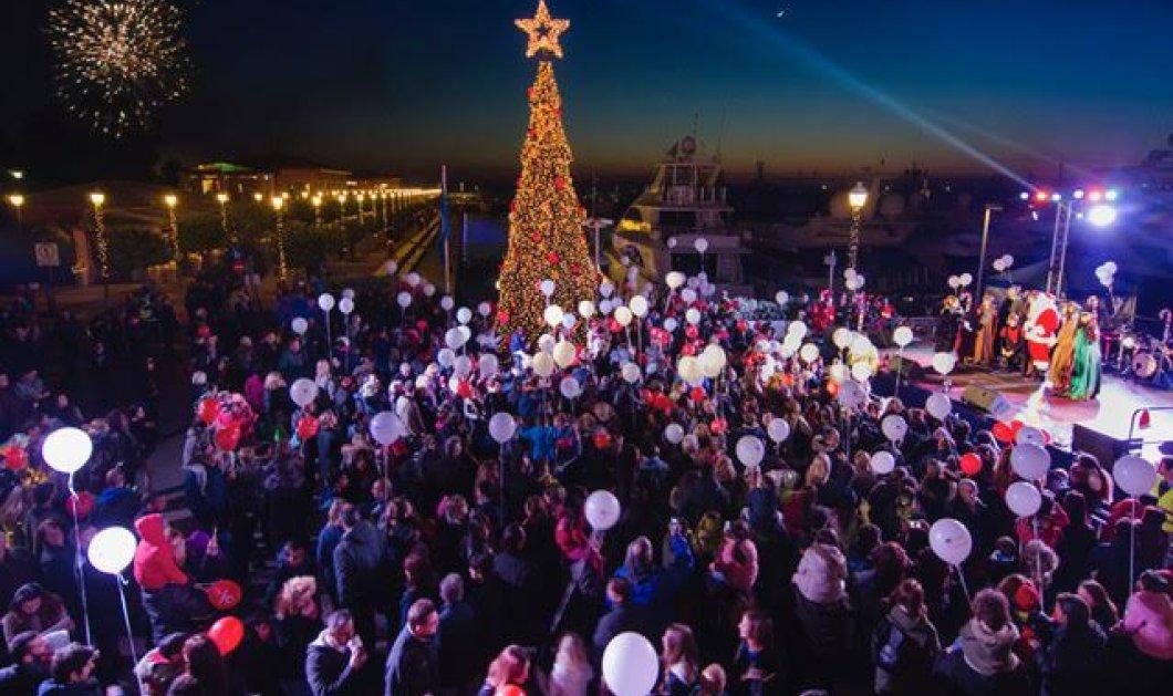 """""""Ο Φλοίσβος & το μαγικό υποθαλάσσιο τρένο"""": Εορταστικές εκδηλώσεις από 11/12/2016 μέχρι 7/1/2017 - Κυρίως Φωτογραφία - Gallery - Video"""