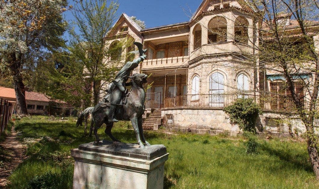 Good news: Έγινε το πρώτο βήμα για τη μετατροπή του κεντρικού κτηρίου των ανακτόρων του Τατοΐου σε μουσείο - Κυρίως Φωτογραφία - Gallery - Video