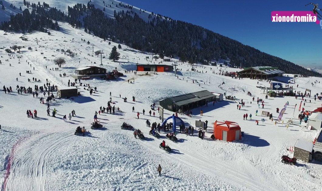 Φανταστικό!!!! Πάμε βόλτα πάνω από τo Χιονοδρομικό Κέντρο Καλαβρύτων με drone; (Βίντεο) - Κυρίως Φωτογραφία - Gallery - Video