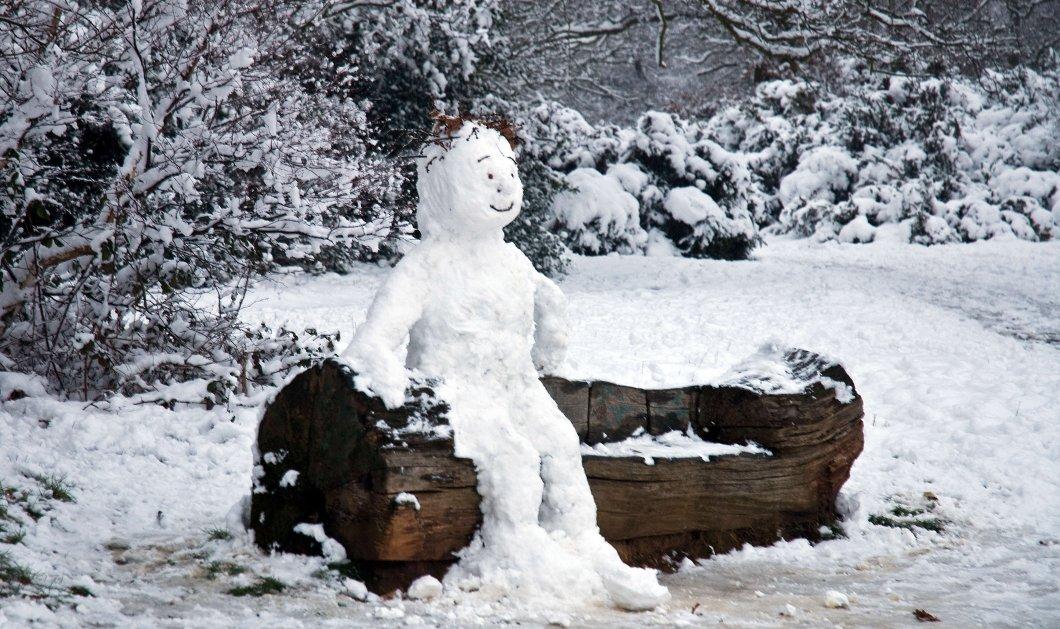 Χιόνια στο καμπαναριό... σε Πάρνηθα και Πεντέλη - Τι καιρό θα έχουμε τα Χριστούγεννα  - Κυρίως Φωτογραφία - Gallery - Video
