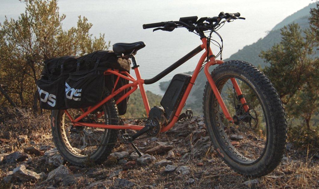 Made in Greece o Δημήτρης Πατούνης και τα χειροποίητα ηλεκτρικά του ποδήλατα: Ο «Hμίονος» ξεκινά από τη Λέσβο για να κατακτήσει τον κόσμο - Κυρίως Φωτογραφία - Gallery - Video