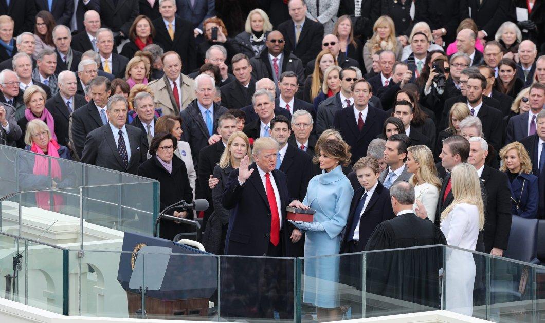 Ο Ντόναλντ Τραμπ νέος πρόεδρος των ΗΠΑ:  Φωτορεπορτάζ από την ορκωμοσία στο Καπιτώλιο - Κυρίως Φωτογραφία - Gallery - Video