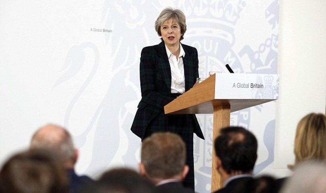 Τερέζα Μέι: Όραμα μας μια «παγκόσμια Βρετανία» - Το Brexit θα ειναι γρήγορο και ξεκάθαρο   - Κυρίως Φωτογραφία - Gallery - Video