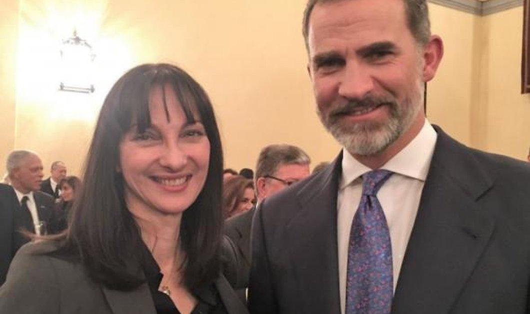 Έλενα Κουντουρά: - Βασιλιάς της Ισπανίας Φελίπε: Συνάντηση σε άψογα ελληνικά για τον ωραίο μονάρχη -ΦΩΤΟ  - Κυρίως Φωτογραφία - Gallery - Video