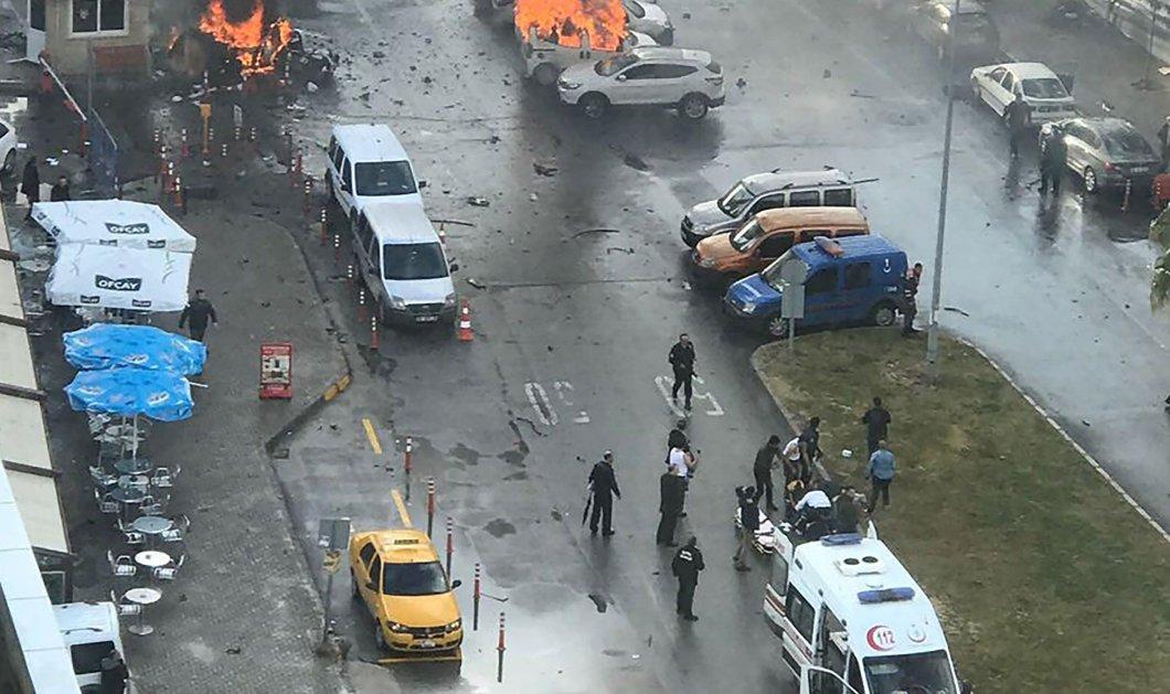 Βίντεο: Η στιγμή της μεγάλης έκρηξης σε δικαστήριο της Σμύρνης με δύο νεκρούς  - Κυρίως Φωτογραφία - Gallery - Video