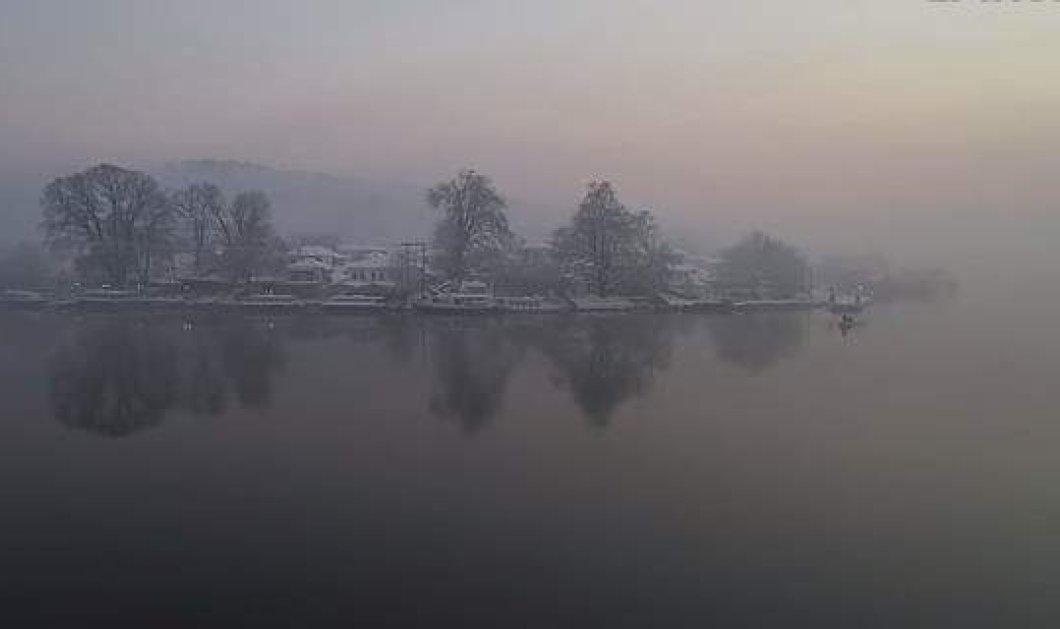 Η λίμνη των Ιωαννίνων μέσα στην ομίχλη - Ένα βίντεο που θυμίζει ταινία του αείμνηστου Θ. Αγγελόπουλου - Κυρίως Φωτογραφία - Gallery - Video