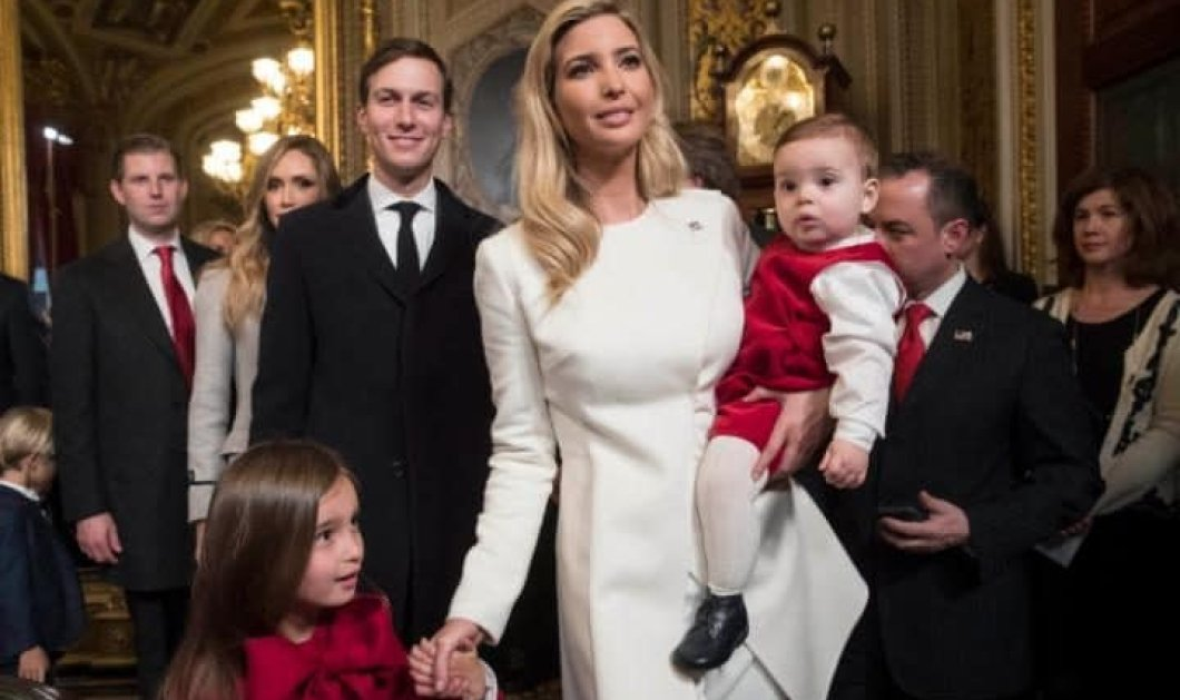 Ο 10 μηνών  εγγονός του Ντ. Τραμπ, Τheodore, έκλεψε όλα τα βλέμματα στην αγκαλιά της μαμάς του Ιβάνκα! (βίντεο) - Κυρίως Φωτογραφία - Gallery - Video
