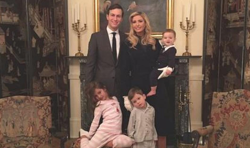 Νταχτιρντί, νταχτιρντί - Στο βίντεο ο γιος της Ιβάνκα Τραμπ μπουσουλάει πρώτη φορά στο Λευκό Οίκο    - Κυρίως Φωτογραφία - Gallery - Video