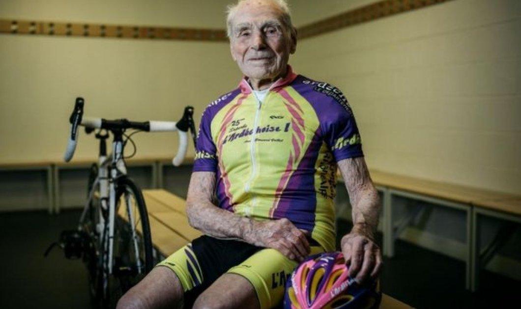 Γιούπιιι! 105 ετών με ρεκόρ ποδηλασίας - Κυρίως Φωτογραφία - Gallery - Video