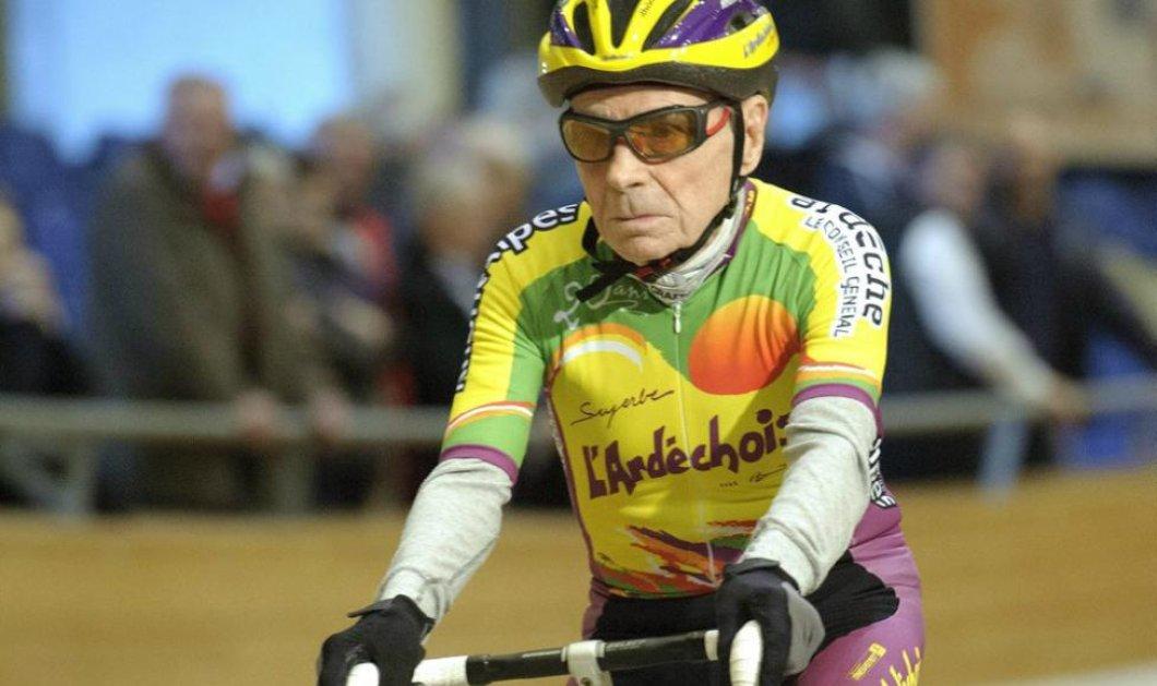 Ο απίστευτος Ρομπέρ Μαρσάν: Στα 105 του χρόνια τρέχει με το ποδήλατό του για να σπάσει το παγκόσμιο ρεκόρ - Κυρίως Φωτογραφία - Gallery - Video
