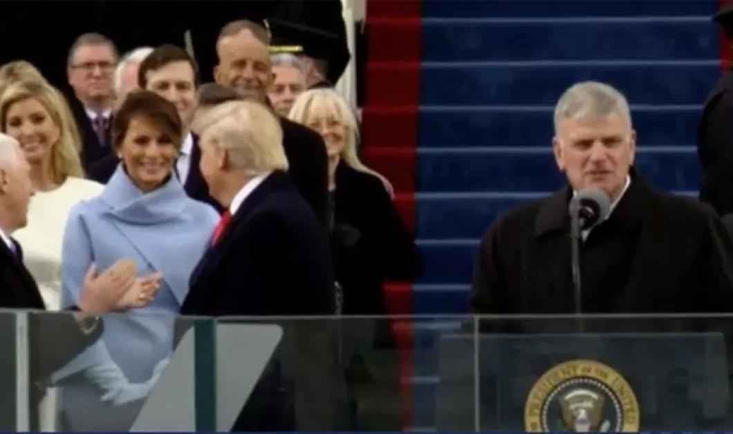 Βίντεο: Τον γύρο του Διαδικτύου κάνει το παγωμένο χαμόγελο της Μελάνια Τραμπ - Κυρίως Φωτογραφία - Gallery - Video