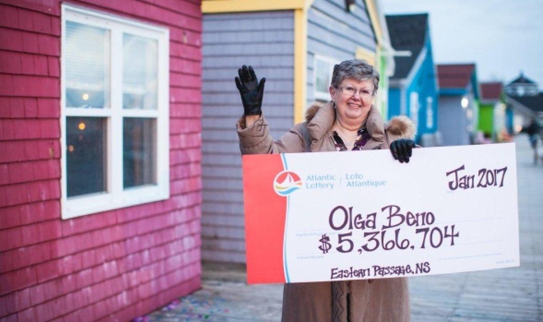 Story of the day : Γιαγιά καρκινοπαθής κέρδισε 5,3 εκατ. στο λόττο – Ονειρεύτηκε τα νούμερα της νίκης πριν 27 χρόνια! (βίντεο) - Κυρίως Φωτογραφία - Gallery - Video