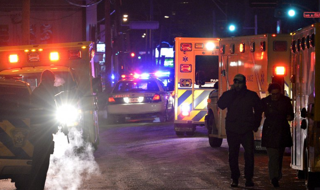Φώτο, βίντεο -Τρομοκρατική επίθεση στον Καναδά: Οπλοφοροί σε τζαμί, 6 νεκροί, 8 τραυματίες   - Κυρίως Φωτογραφία - Gallery - Video