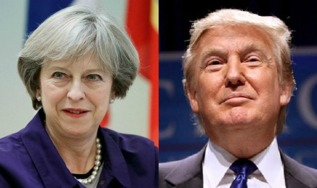 Την Τερέζα Μέι θα συναντήσει ο Ντόναλντ Τραμπ, για τη συνεργασία ΗΠΑ-Βρετανίας μετά το Brexit  - Κυρίως Φωτογραφία - Gallery - Video