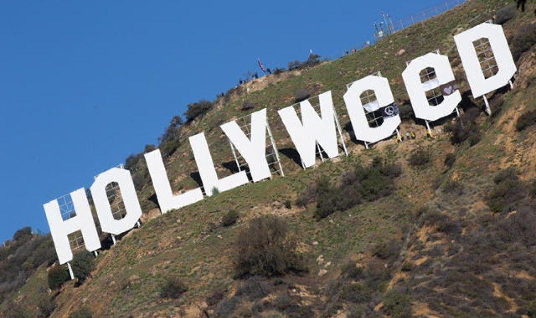 Απίστευτο: Η διάσημη πινακίδα Hollywood έγινε Hollyweed δηλ ...μαριχουάνα - Ποιοι βανδάλισαν το σύμβολο;   - Κυρίως Φωτογραφία - Gallery - Video
