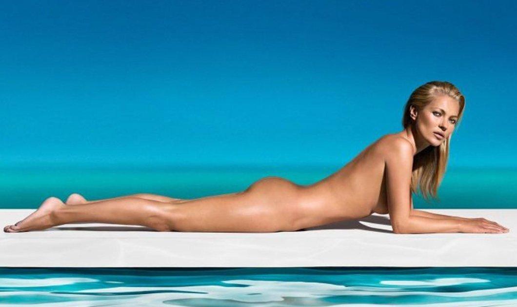 H Κate Moss ποζάρει oλόγυμνη στα 42! Μαζί της η JLo, η Donatella Versace, η Chastaine - Φώτο  - Κυρίως Φωτογραφία - Gallery - Video