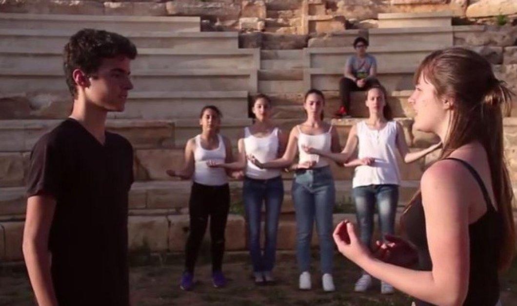 Μade in Greece το ντοκιμαντέρ των μαθητών της Κρήτης για την αρχαία Απτέρα on board σε όλα τα αεροπλάνα της Aegean   - Κυρίως Φωτογραφία - Gallery - Video