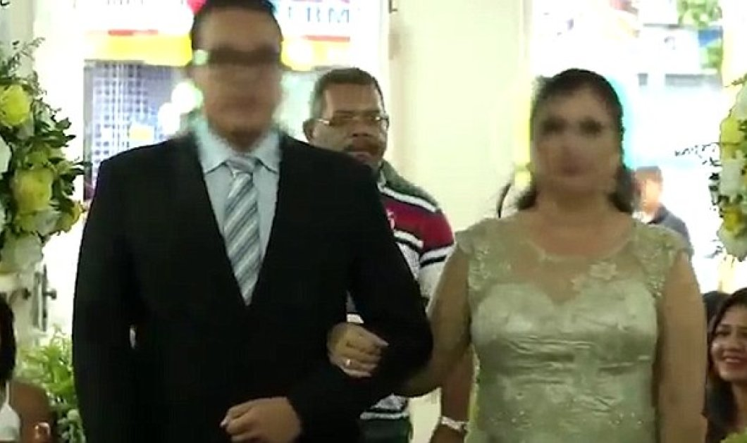 Ματωμένος γάμος: Άγνωστος άνοιξε πυρ μέσα στην εκκλησία την ώρα του μυστηρίου - Κυρίως Φωτογραφία - Gallery - Video
