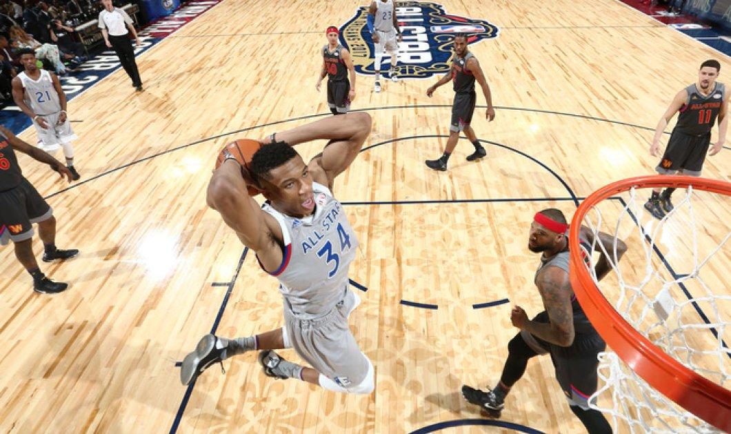 NBA All Star Game 2017: Σάρωσε ο Γιάννης Αντετοκούνμπο έβαλε 30 πόντους - Κυρίως Φωτογραφία - Gallery - Video