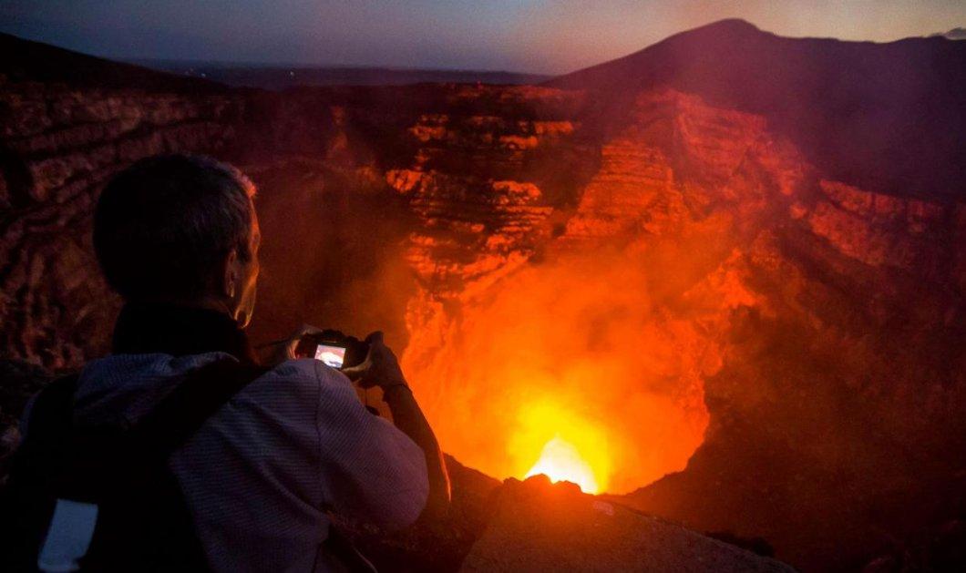 60χρονος επιστήμονας ηφαιστειολόγος και πυροσβέστης έπεσαν μέσα σε ενεργό ηφαίστειο και σώθηκαν  - Κυρίως Φωτογραφία - Gallery - Video