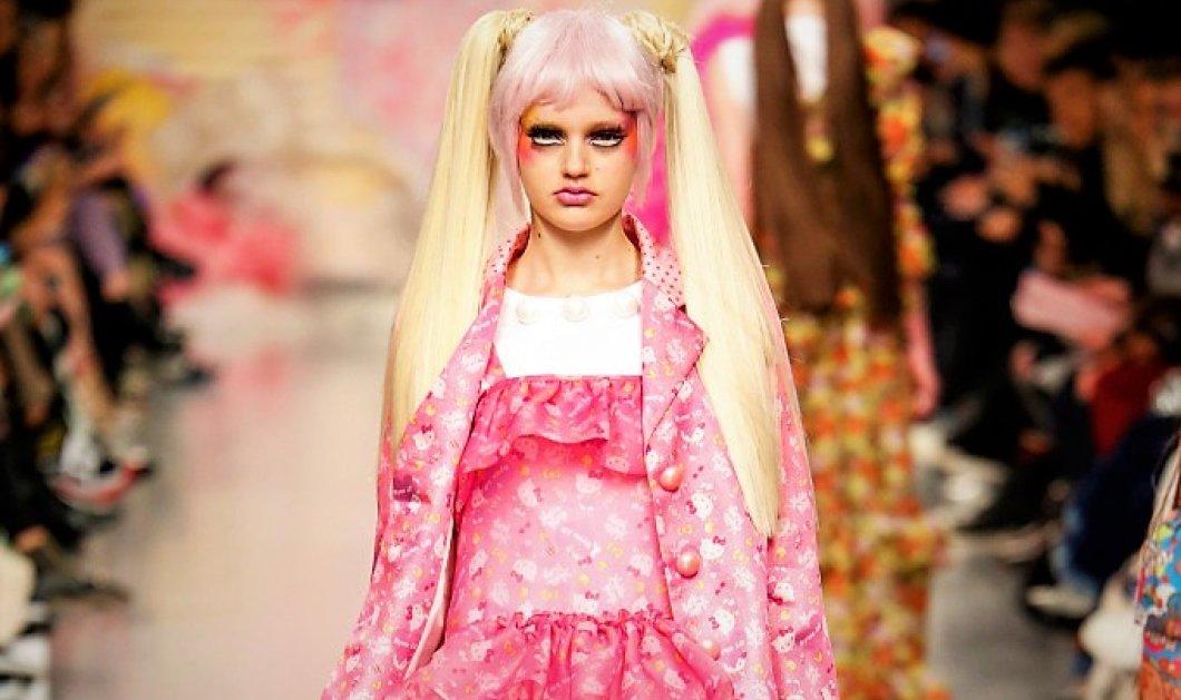 Ροζ παντού! Σχεδιάστρια μόδας έδειξε ολόκληρη συλλογή για ενήλικες Hello Kitty- Vamos κορίτσια...  - Κυρίως Φωτογραφία - Gallery - Video
