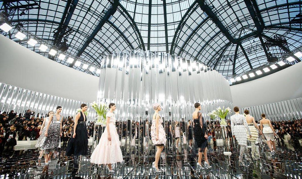 Φώτο - Βίντεο: Παστέλ οπτασία η κολεξιόν Chanel  Haute Couture για Άνοιξη & Καλοκαίρι - Κυρίως Φωτογραφία - Gallery - Video