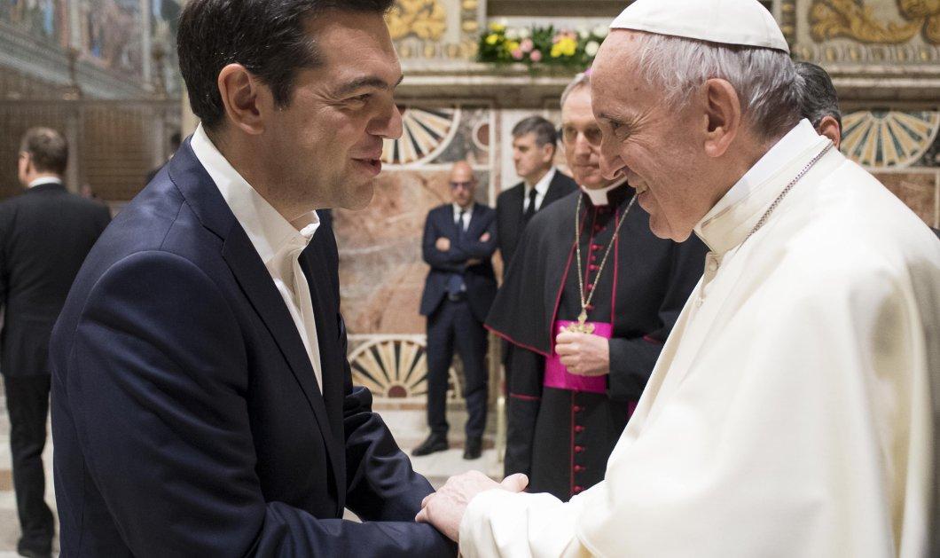 Ο Πρωθυπουργός στη Ρώμη: 48 φωτογραφίες του Αλέξη Τσίπρα στην Αιώνια Πόλη: από τον Πάπα στην Νέα Ευρώπη - Κυρίως Φωτογραφία - Gallery - Video