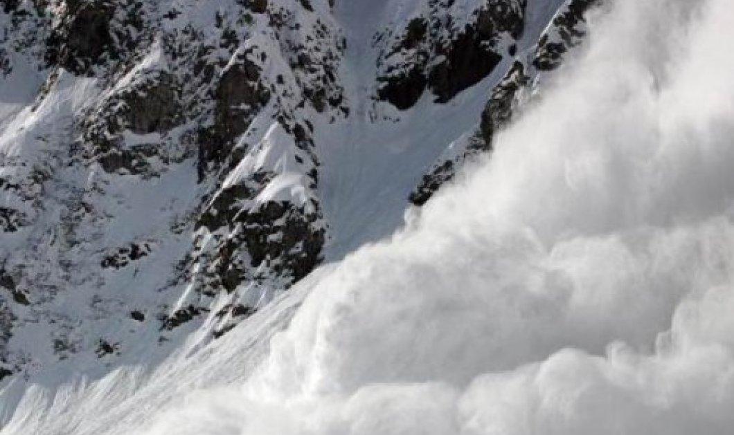 Χιονοστιβάδα σε πίστα χιονοδρομικού κέντρου στη Γαλλία την ώρα που έκαναν σκι - Φόβοι για εγκλωβισμένους - Κυρίως Φωτογραφία - Gallery - Video