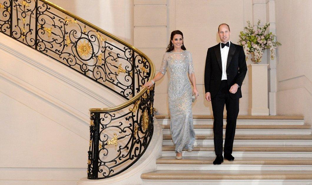 Ουίλιαμ και Κέιτ στο Παρίσι: Ξέχασαν το ξανθό μανεκέν του άτακτου  - Glamorous εμφανίσεις η Πριγκίπισσα  - Κυρίως Φωτογραφία - Gallery - Video