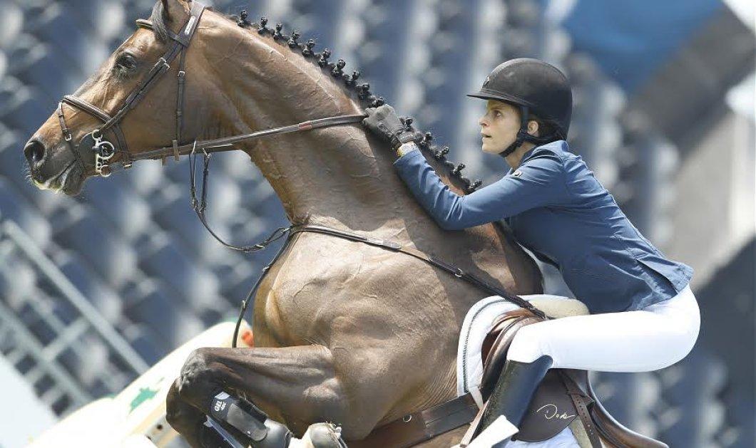 Η στιγμή που η Αθηνά Ωνάση πέφτει από το άλογό της- Το ατύχημα θα της στερήσει την ιππασία; - Κυρίως Φωτογραφία - Gallery - Video