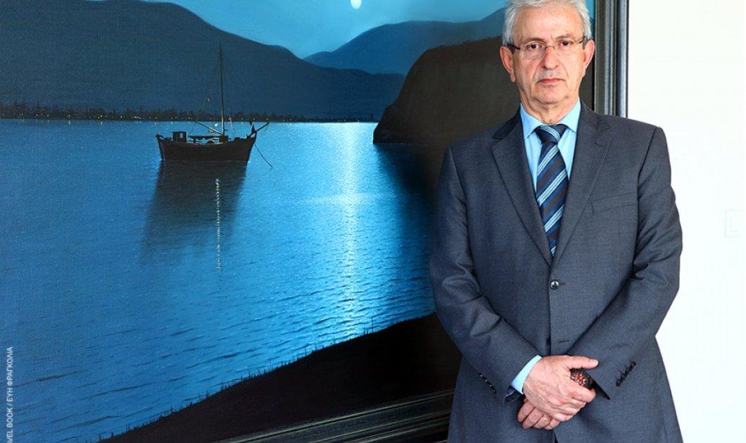 Πρόεδρος της Ένωσης Ελλήνων Εφοπλιστών Θ. Βενιάμης: Να ξαναφέρουμε τους Έλληνες στα πλοία μας   - Κυρίως Φωτογραφία - Gallery - Video