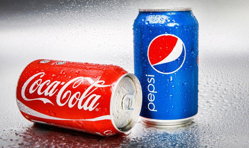 Ποια είναι η μόνη διαφορά της Coca-Cola με την Pepsi Cola; Θα εκπλαγείτε! - Κυρίως Φωτογραφία - Gallery - Video
