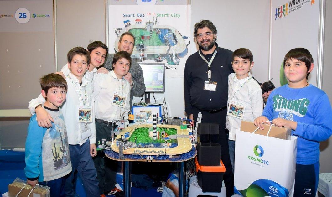 Οι μαθητές έδειξαν το μέλλον στον τελικό του Πανελλήνιου Διαγωνισμού Εκπαιδευτικής Ρομποτικής - Κυρίως Φωτογραφία - Gallery - Video