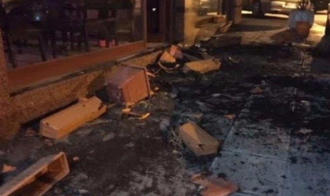 """Θεσσαλονίκη: Μεθυσμένοι άραβες δεν πλήρωσαν και τα έκαναν """"γυαλιά καρφιά"""" σε μπαράκι  - Κυρίως Φωτογραφία - Gallery - Video"""
