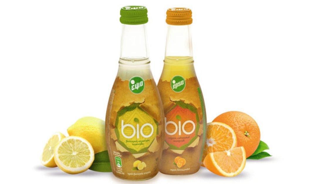 Μade in Greece τα πρώτα βιολογικά αναψυκτικά: Από πορτοκάλια & λεμόνια με βιολογική ζαχαρη ή στέβια - Κυρίως Φωτογραφία - Gallery - Video