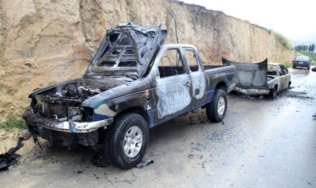 Απαγωγή – θρίλερ γνωστού Ηρακλειώτη επιχειρηματία με μεγάλη οικονομική επιφάνεια: Έκαψαν και εγκατέλειψαν δύο αυτοκίνητα  - Κυρίως Φωτογραφία - Gallery - Video