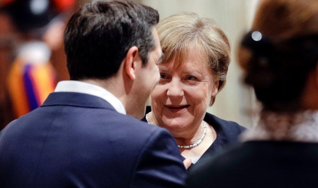 Μέρκελ: Μπέτυ (Μπαζιάνα) ο Αλέξης δεν με έχει καλέσει στην Αθήνα... - Κυρίως Φωτογραφία - Gallery - Video