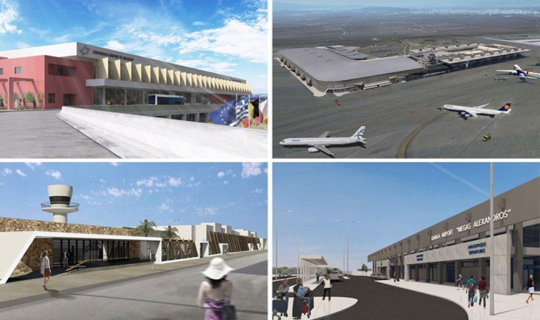 Δείτε τα νέα σχέδια της Fraport Greece που μεταμορφώνουν τα 14 αεροδρόμια - Κυρίως Φωτογραφία - Gallery - Video