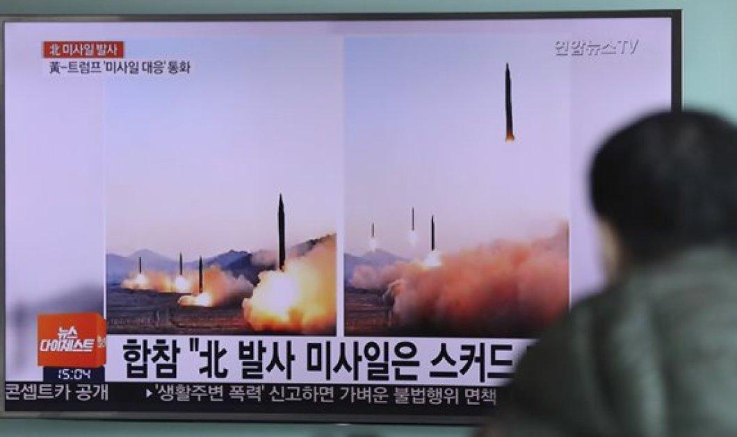 Η Βόρεια Κορέα πραγματοποίησε δοκιμαστική εκτόξευση πυραύλου - Κυρίως Φωτογραφία - Gallery - Video