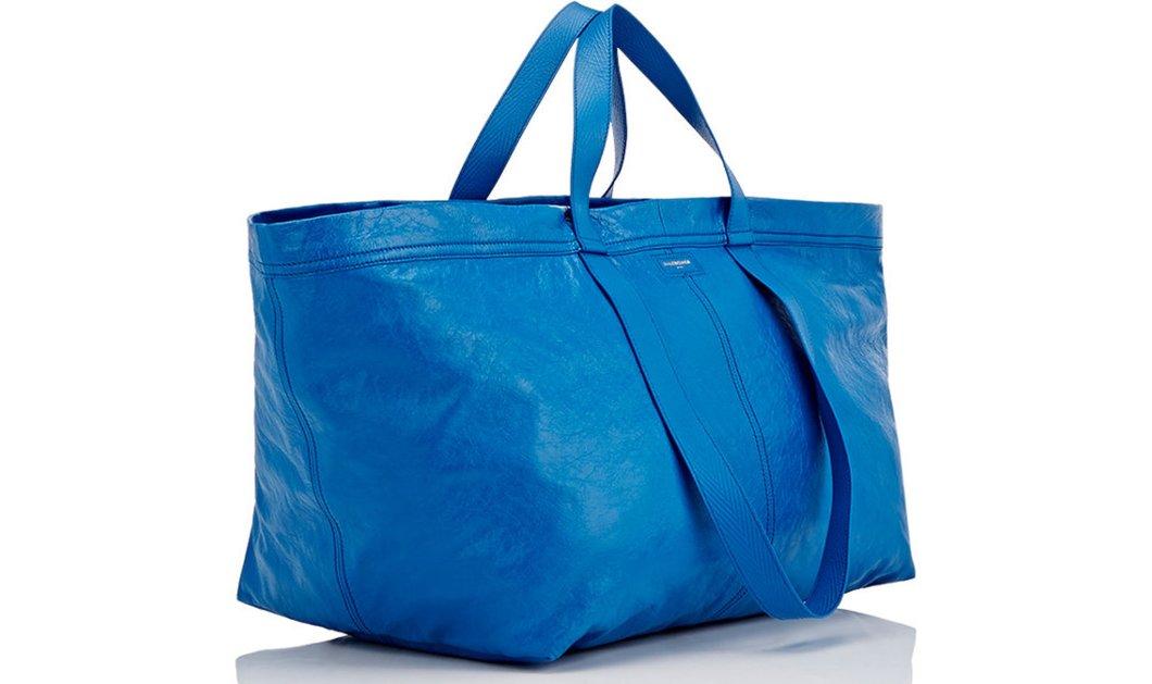 Η Balenciaga πουλάει 2.030 ευρώ την σχεδόν ίδια τσάντα με της ΙΚΕΑ κόστους 90 λεπτών!! -Φώτο - Κυρίως Φωτογραφία - Gallery - Video