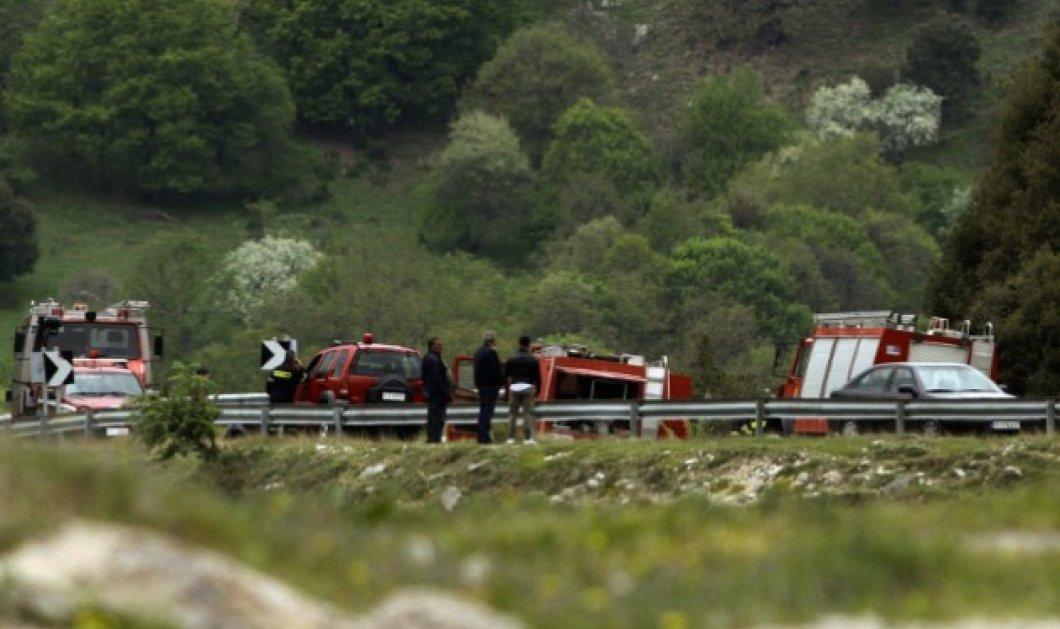 4 νεκροί και 1 επιζήσασα από την πτώση του ελικοπτέρου στην Κοζάνη - Φωτό & Βίντεο - Κυρίως Φωτογραφία - Gallery - Video