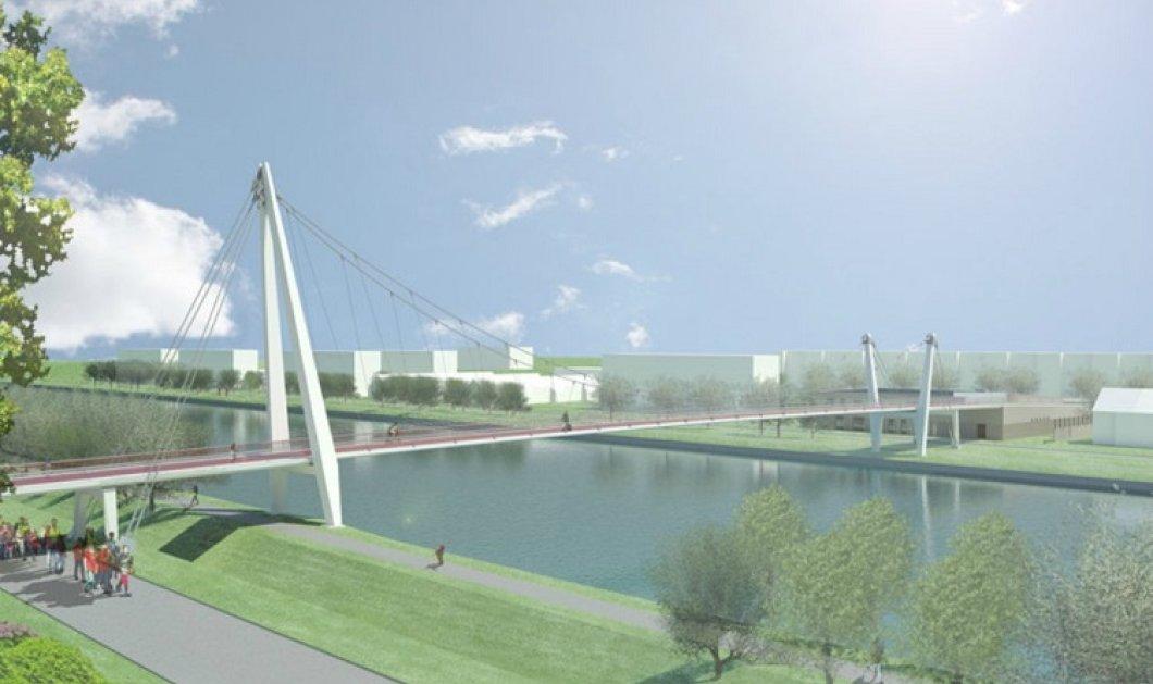 Όταν οι αρχιτέκτονες έχουν κέφια: Ένας ποδηλατόδρομος γίνεται γέφυρα πάνω από ένα νηπιαγωγείο! - Κυρίως Φωτογραφία - Gallery - Video